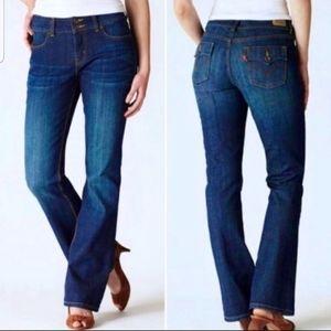 Levi's 526 Slender Boot Cut Denim Jeans Sz 10